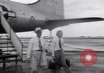 Image of C-54 aircraft Marshall Islands, 1946, second 9 stock footage video 65675034521