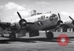 Image of B-17 drone aircraft Eniwetak Atoll Marshall Islands, 1946, second 1 stock footage video 65675034534