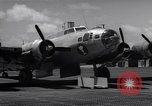 Image of B-17 drone aircraft Eniwetak Atoll Marshall Islands, 1946, second 8 stock footage video 65675034534