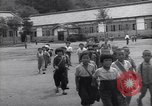 Image of Japanese schoolboys Chichibu Honshu Japan, 1945, second 8 stock footage video 65675034548