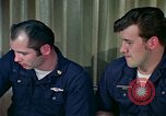 Image of US Navy sailors perform duties aboard submarine at sea United States USA, 1965, second 10 stock footage video 65675034575