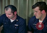 Image of US Navy sailors perform duties aboard submarine at sea United States USA, 1965, second 11 stock footage video 65675034575