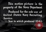Image of Submarines of the U.S. Asiatic Fleet United States USA, 1940, second 7 stock footage video 65675034582