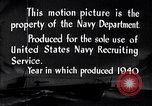 Image of Submarines of the U.S. Asiatic Fleet United States USA, 1940, second 8 stock footage video 65675034582