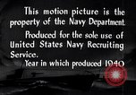Image of Submarines of the U.S. Asiatic Fleet United States USA, 1940, second 11 stock footage video 65675034582