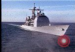 Image of Theodore Roosevelt aircraft carrier Norfolk Virginia USA, 1996, second 2 stock footage video 65675034584