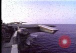 Image of Theodore Roosevelt aircraft carrier Norfolk Virginia USA, 1996, second 5 stock footage video 65675034584