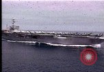 Image of Theodore Roosevelt aircraft carrier Norfolk Virginia USA, 1996, second 8 stock footage video 65675034584