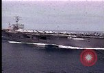 Image of Theodore Roosevelt aircraft carrier Norfolk Virginia USA, 1996, second 9 stock footage video 65675034584