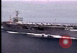 Image of Theodore Roosevelt aircraft carrier Norfolk Virginia USA, 1996, second 10 stock footage video 65675034584
