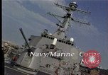 Image of USS Barry Norfolk Virginia USA, 1996, second 4 stock footage video 65675034586