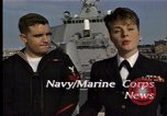 Image of USS Barry Norfolk Virginia USA, 1996, second 6 stock footage video 65675034586