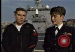 Image of USS Barry Norfolk Virginia USA, 1996, second 8 stock footage video 65675034586