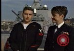 Image of USS Barry Norfolk Virginia USA, 1996, second 12 stock footage video 65675034586