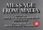 Image of life in Malta Malta, 1943, second 9 stock footage video 65675034619