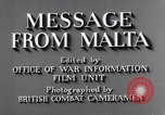Image of life in Malta Malta, 1943, second 11 stock footage video 65675034619