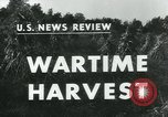 Image of farm harvest in America during World War 2 United States USA, 1942, second 2 stock footage video 65675034628