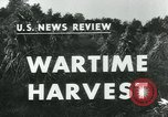 Image of farm harvest in America during World War 2 United States USA, 1942, second 3 stock footage video 65675034628