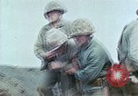 Image of US Marine combat on Iwo Jima Iwo Jima, 1945, second 10 stock footage video 65675034632
