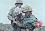 Image of US Marine combat on Iwo Jima Iwo Jima, 1945, second 11 stock footage video 65675034632