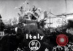 Image of Mardi Gras celebration Viareggio Italy, 1953, second 1 stock footage video 65675034642
