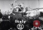 Image of Mardi Gras celebration Viareggio Italy, 1953, second 2 stock footage video 65675034642