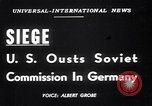 Image of Military Police Frankfurt Germany, 1949, second 2 stock footage video 65675034645