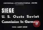 Image of Military Police Frankfurt Germany, 1949, second 3 stock footage video 65675034645