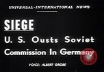 Image of Military Police Frankfurt Germany, 1949, second 4 stock footage video 65675034645