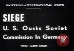 Image of Military Police Frankfurt Germany, 1949, second 5 stock footage video 65675034645