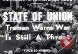 Image of Harry S Truman Washington DC USA, 1952, second 1 stock footage video 65675034653