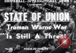 Image of Harry S Truman Washington DC USA, 1952, second 6 stock footage video 65675034653