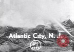 Image of fire Atlantic City New Jersey USA, 1952, second 1 stock footage video 65675034655