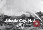 Image of fire Atlantic City New Jersey USA, 1952, second 2 stock footage video 65675034655
