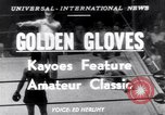 Image of Golden Gloves New York City USA, 1952, second 1 stock footage video 65675034656