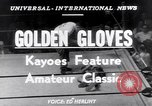 Image of Golden Gloves New York City USA, 1952, second 3 stock footage video 65675034656