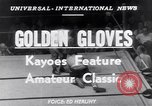 Image of Golden Gloves New York City USA, 1952, second 5 stock footage video 65675034656