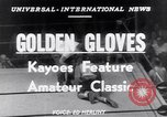 Image of Golden Gloves New York City USA, 1952, second 6 stock footage video 65675034656
