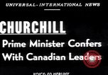Image of Winston Churchill Ottawa Ontario Canada, 1952, second 1 stock footage video 65675034658