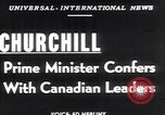 Image of Winston Churchill Ottawa Ontario Canada, 1952, second 2 stock footage video 65675034658