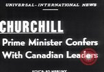 Image of Winston Churchill Ottawa Ontario Canada, 1952, second 3 stock footage video 65675034658