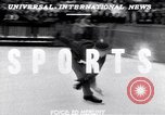 Image of World Barrel Jumping Contest on ice Liberty New York USA, 1952, second 3 stock footage video 65675034662