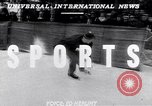 Image of World Barrel Jumping Contest on ice Liberty New York USA, 1952, second 4 stock footage video 65675034662
