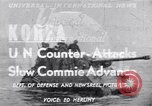 Image of US Eighth Army countering Chinese Spring Offensive Korea, 1951, second 12 stock footage video 65675034663