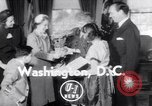 Image of Bess Truman Washington DC USA, 1951, second 1 stock footage video 65675034665