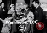 Image of Bess Truman Washington DC USA, 1951, second 3 stock footage video 65675034665