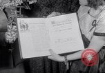 Image of Bess Truman Washington DC USA, 1951, second 12 stock footage video 65675034665