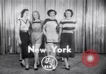 Image of models New York United States USA, 1951, second 1 stock footage video 65675034666
