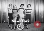 Image of models New York United States USA, 1951, second 2 stock footage video 65675034666