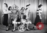 Image of models New York United States USA, 1951, second 3 stock footage video 65675034666